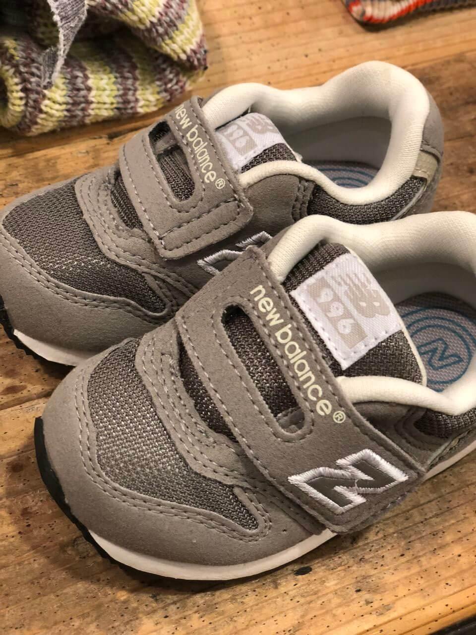 ニューバランスの赤ちゃん用サイズ可愛いすぎる💕のブログ画像