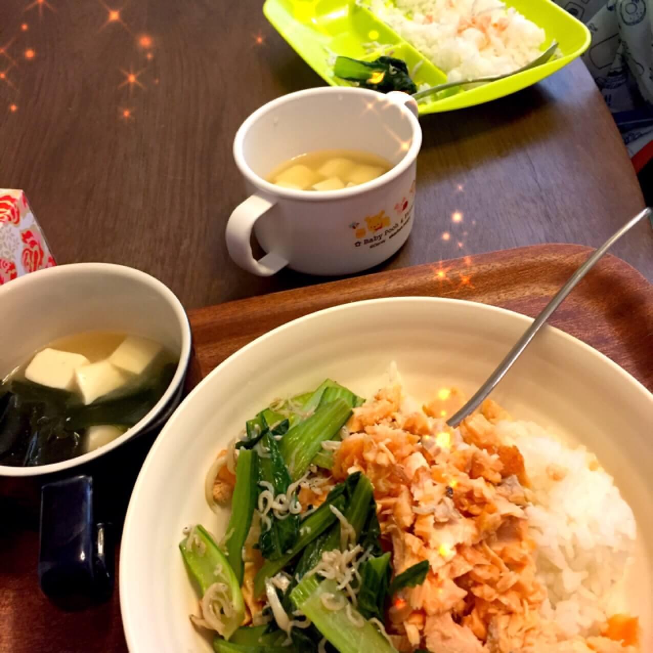 おやこ飯のブログ画像