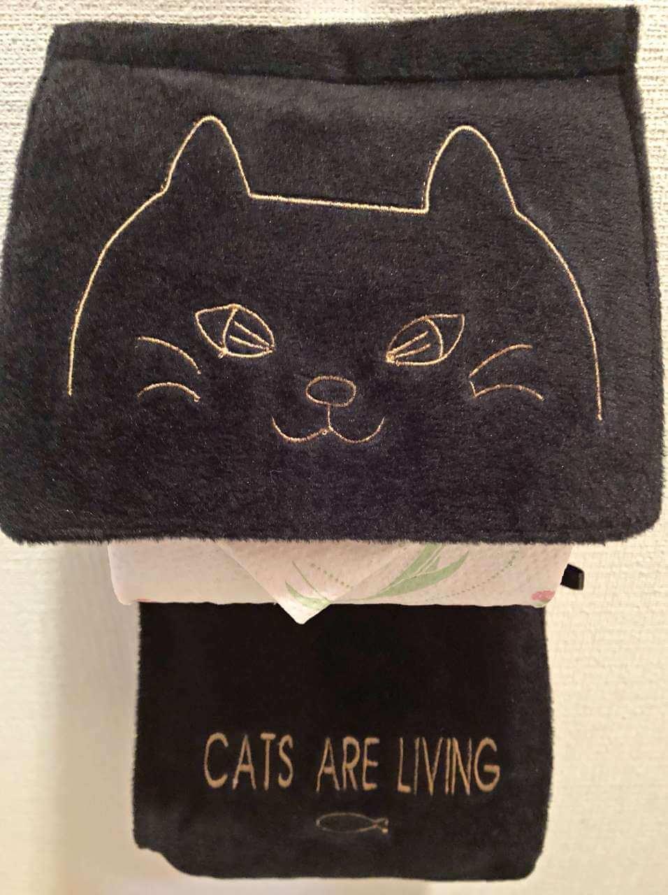 coucouで黒猫のペーパーカバーを見つけました。のブログ画像