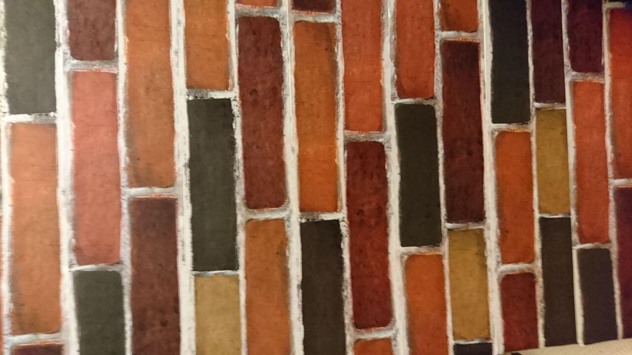 柱をレンガ風シートでリメイクDIY!のブログ画像