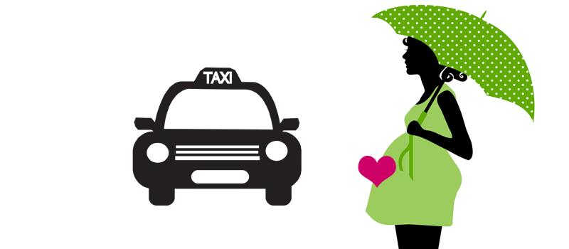 陣痛時のタクシー配車サービスってどんなの? |【出産準備】陣痛時のタクシーサービスに登録してみました第1話