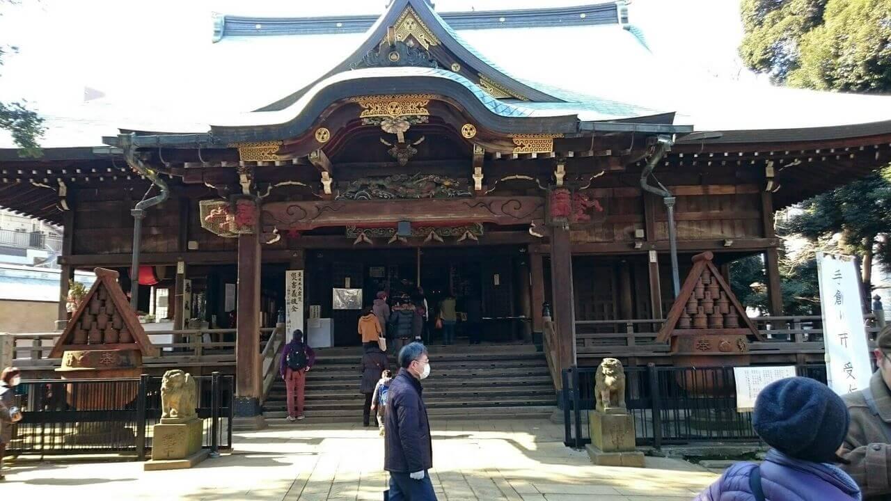 子授け、安産、子育ての鬼子母神と手創り市と食べ歩き!東京妊婦探訪